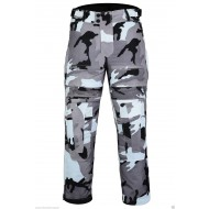 CT-1002 Grey Camo Camouflage Waterproof Armoured Motorcycle Thermal Waterproof Trousers