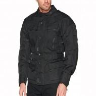 The INFINITY Black Waterproof Vented Thermal Armour Motorcycle Motorbike Jacket