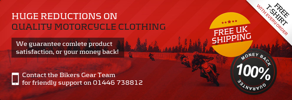Quality Motorcycle clothing at wholesale prices